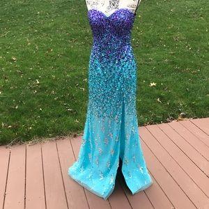 Alyce Paris Full gem prom gown